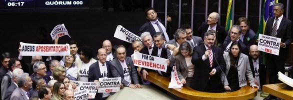 Plenário da Câmara aprova Reforma da Previdência em 1º turno