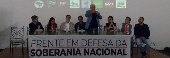 Fetrafi-RS sedia lançamento da Frente em Defesa da Soberania Nacional