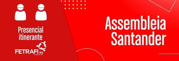 Assembleia Geral Extraordinária dos Empregados/as do Banco Santander S.A (presencial)