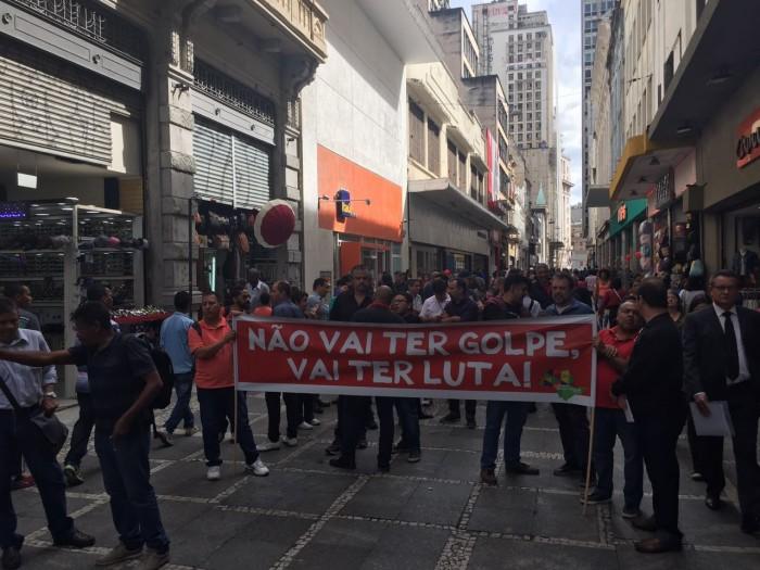 Bancários fortalecem Dia Nacional de Paralisações por todo o Brasil