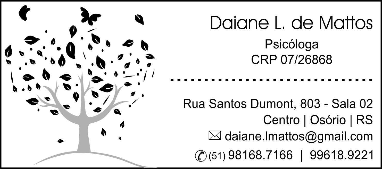 Psicóloga Daiane L.de Mattos