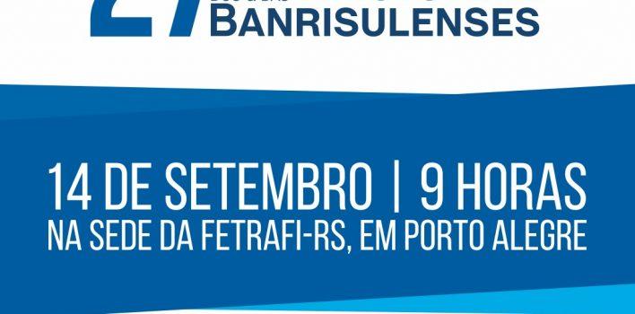 Banrisulenses realizam encontro nacional no dia 14 de setembro