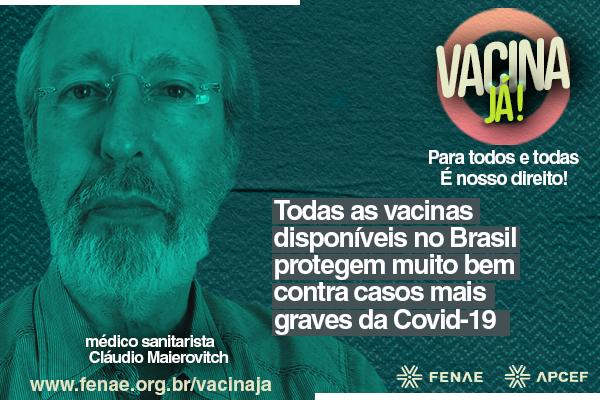 """Todas as vacinas disponíveis no Brasil """"protegem muito bem contra casos mais graves da Covid-19"""", afirma sanitarista da Fiocruz"""