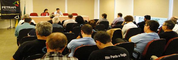 Novos delegados e delegadas sindicais assumem suas funções com grandes desafios