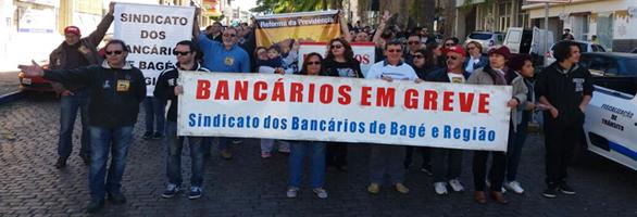 Fetrafi-RS entrará na Justiça contra retaliações dos bancos à greve