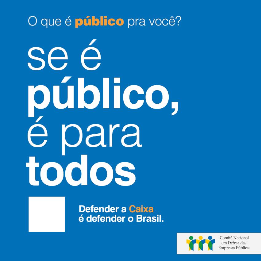 Defesa do que é público pauta o Brasil contemporâneo