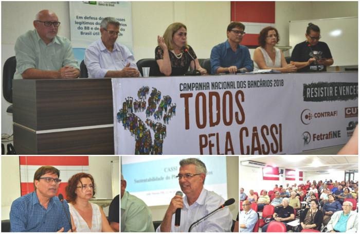 Debate sobre futuro da Cassi alerta para desmonte e bancários devem votar não