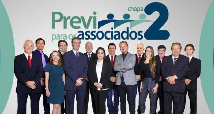 Chapa 2 vence as eleições da Previ
