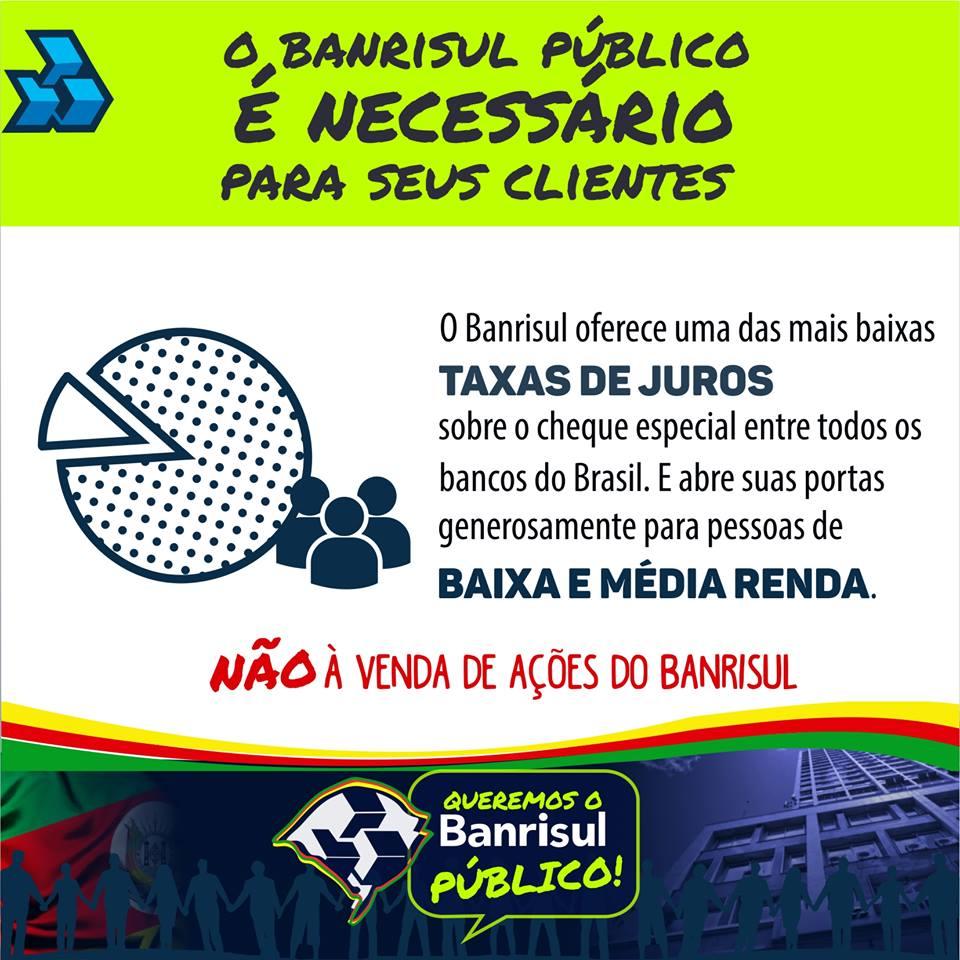 Campanha em Defesa do Banrisul!