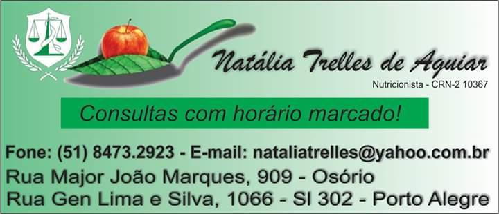 Nutricionista Natália Trelles de Aguiar