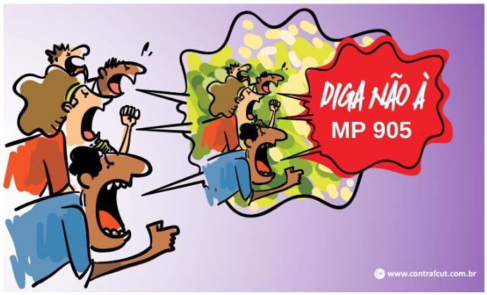População diz não à MP 905