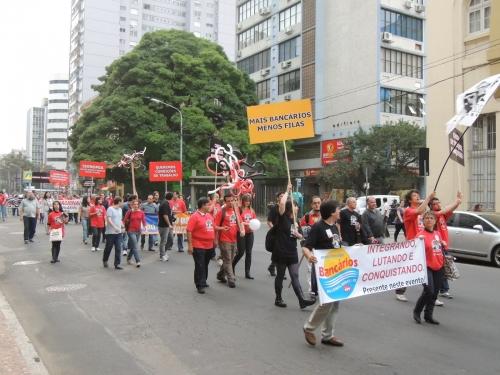 Passeatão dos Bancários 2012!!