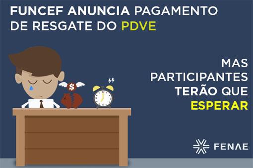 Funcef anuncia pagamento de resgate para quem aderiu ao PDVE