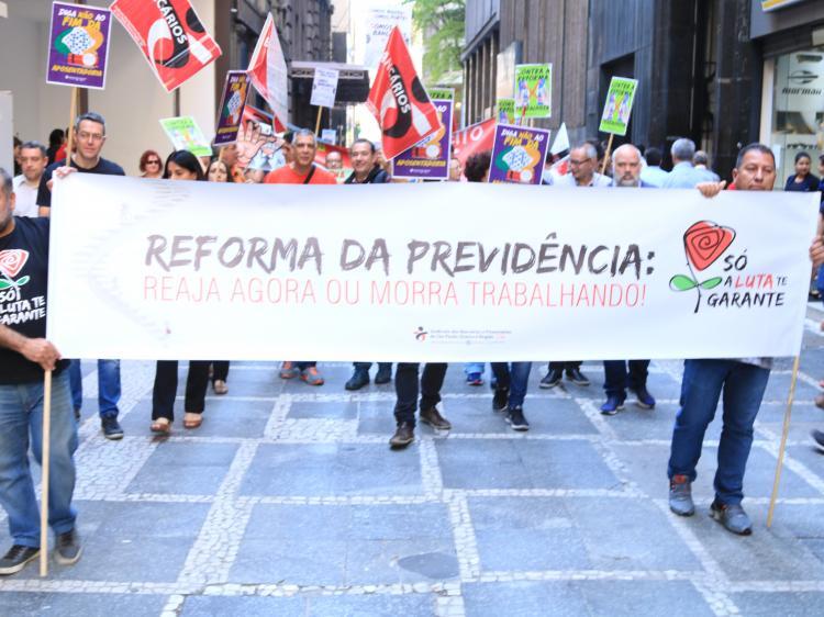 CUT promete: Brasil vai parar se mudarem Previdência