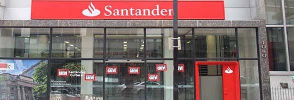 Campanha continua. COE do Santander se reúne hoje com o banco