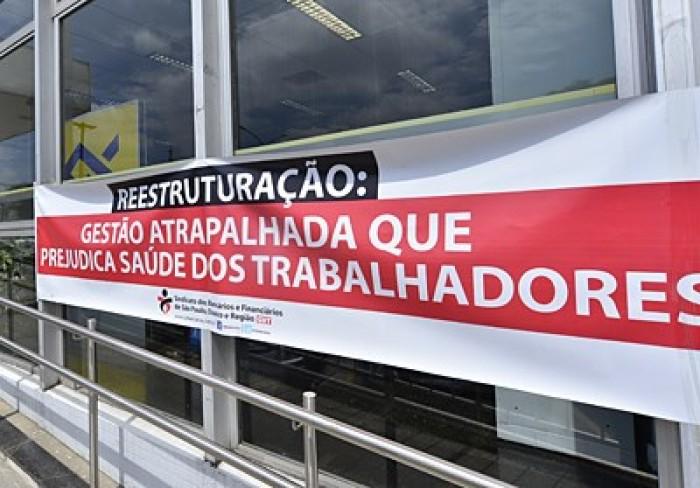 Dia Nacional de Luta contra reestruturação do BB paralisa agências em todo o País