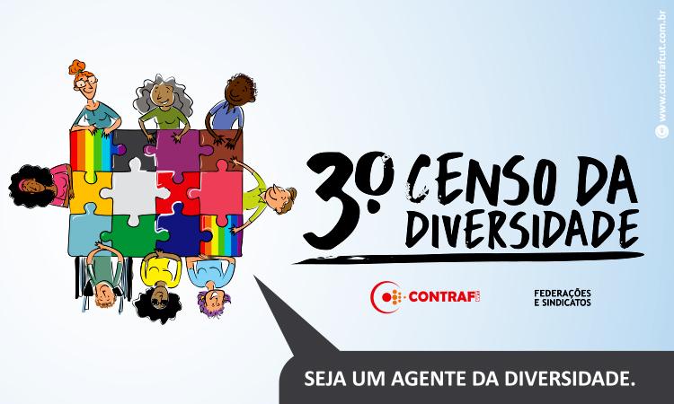 Contraf-CUT solicita prorrogação do prazo do Censo da Diversidade