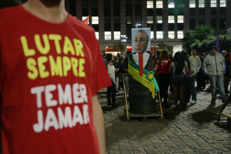 CUT/Vox Populi: 93% dos brasileiros querem Temer investigado