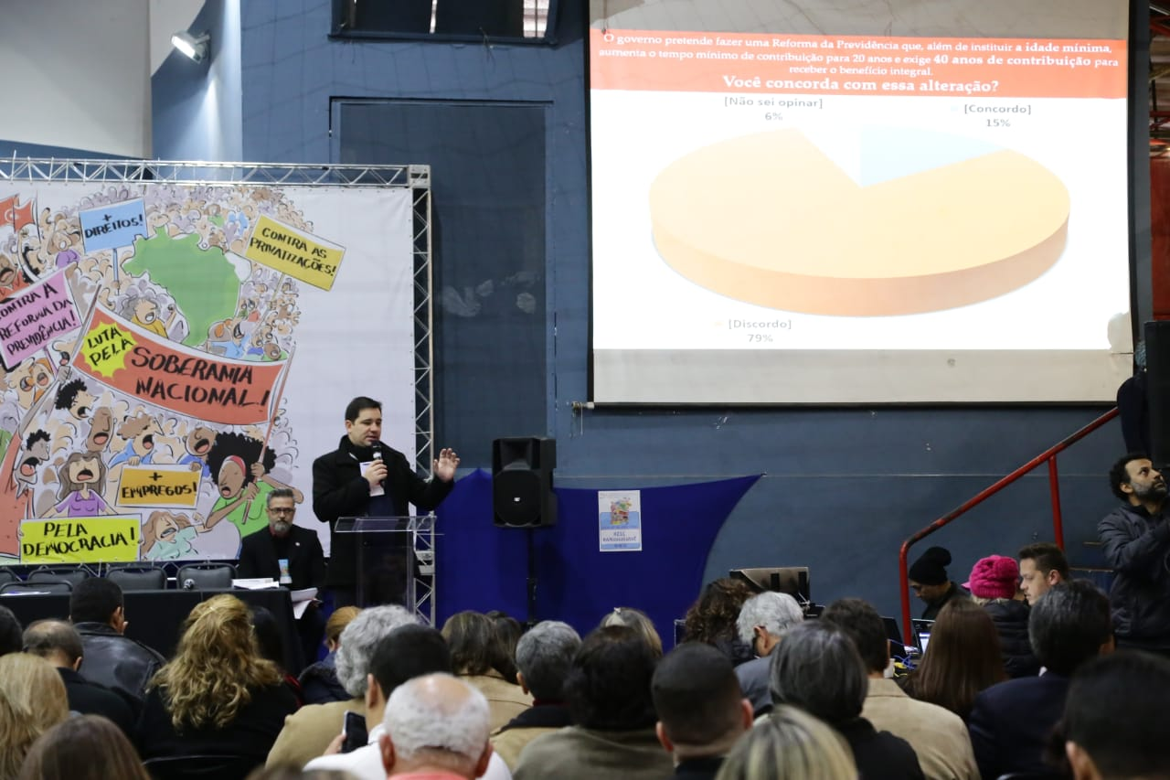 Bancários são contra a reforma da Previdência que fará desigualdade social no Brasil aumentar
