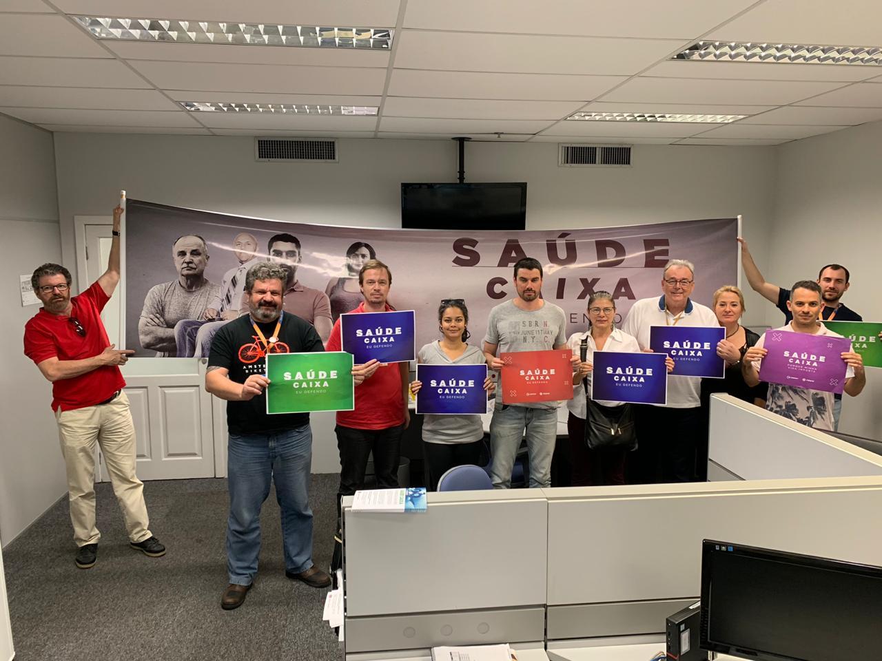 Dia Nacional de Luta em Defesa do Saúde Caixa movimenta todo o Brasil